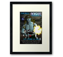 Rogue Trooper The Future of War. Framed Print