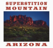 Superstition Mountain Arizona Kids Tee