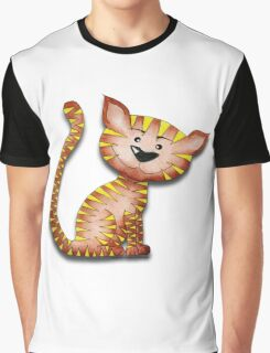 Purrnickerty the Cat - Just sitting Graphic T-Shirt