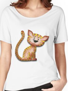 Purrnickerty the Cat - Just sitting Women's Relaxed Fit T-Shirt