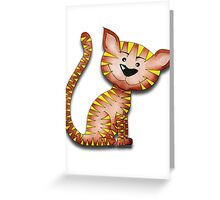 Purrnickerty the Cat - Just sitting Greeting Card