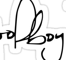 ScHoolboy Q Signature Sticker