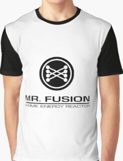Mr. Fusion Home Energy Reactor Graphic T-Shirt