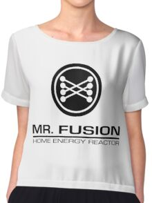 Mr. Fusion Home Energy Reactor Chiffon Top