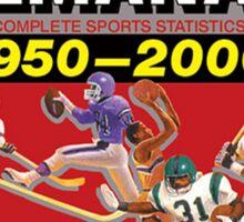 Grays Sports Almanac Complete Sports Statistics 1950-2000 Sticker
