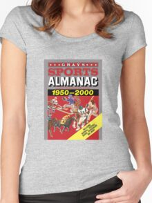 Grays Sports Almanac Complete Sports Statistics 1950-2000 Women's Fitted Scoop T-Shirt