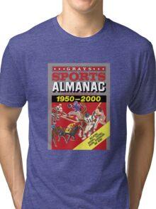 Grays Sports Almanac Complete Sports Statistics 1950-2000 Tri-blend T-Shirt