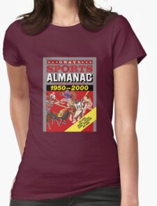 Grays Sports Almanac Complete Sports Statistics 1950-2000 Womens Fitted T-Shirt