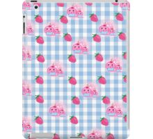 strawberries and cookies iPad Case/Skin