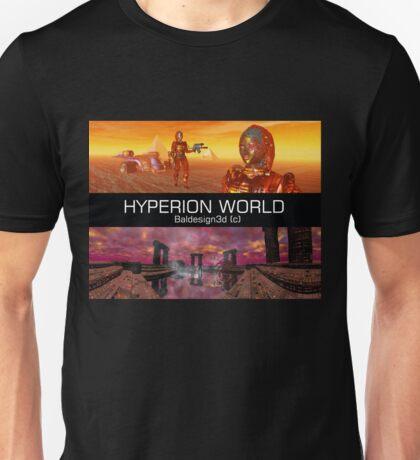 HYPERION WORLD SCIENCE FICTION Scifi Unisex T-Shirt