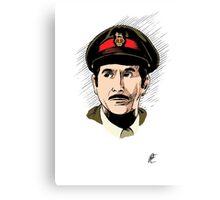 The Brigadier Canvas Print