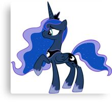 HAPPY PRINCESS LUNA Canvas Print