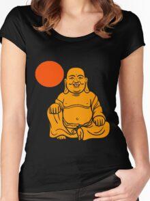 BUDDHA-3 Women's Fitted Scoop T-Shirt