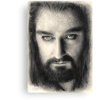 Thorin Oakenshield The Hobbit Canvas Print