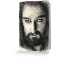 Thorin Oakenshield The Hobbit Greeting Card