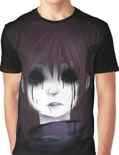 EMO- Morbid Girl Graphic T-Shirt