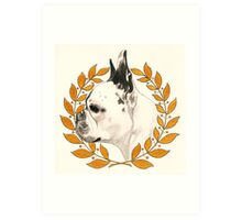 French Bulldog - @french_alice Art Print