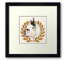 French Bulldog - @french_alice Framed Print