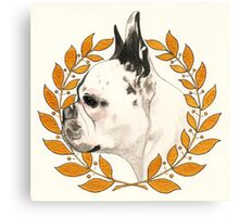 French Bulldog - @french_alice Canvas Print