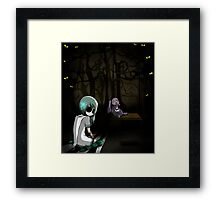 EMO- My Bunny Doll Framed Print