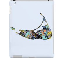 Abstract Map of Nantucket iPad Case/Skin