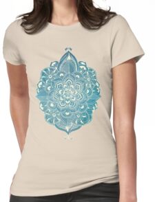 Heading East on the Ocean Womens Fitted T-Shirt