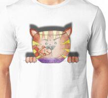 Purrnickerty the Cat - Fishbowl Unisex T-Shirt