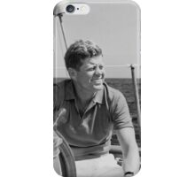 JFK Sailing On Vacation iPhone Case/Skin