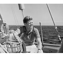 JFK Sailing On Vacation Photographic Print