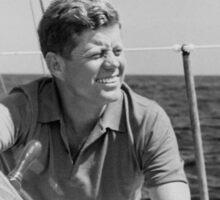 JFK Sailing On Vacation Sticker