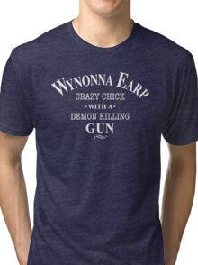 Wynonna Earp Tri-blend T-Shirt