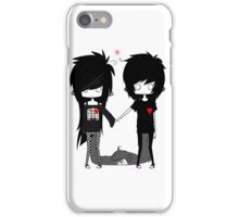 EMO- Forever You And I iPhone Case/Skin