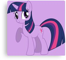 TWILIGHT SPARKLE Canvas Print