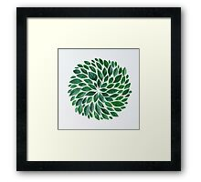 tropical star Framed Print