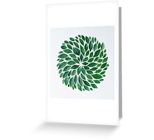 tropical star Greeting Card