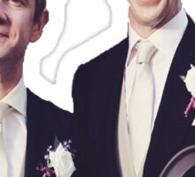 Johnlock | Flower Crowns Sticker