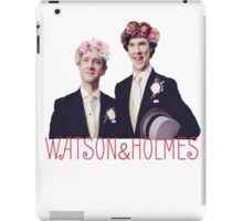 Johnlock | Flower Crowns iPad Case/Skin