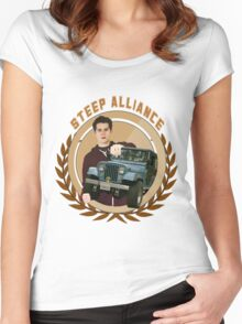 Steep Alliance [Stiles&The Jeep] Women's Fitted Scoop T-Shirt