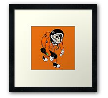 Be A HERO -Skate edition- Framed Print