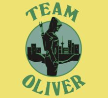 Team Oliver. Oliver Queen. Baby Tee