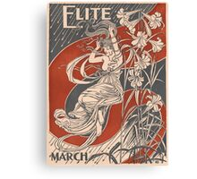 Artist Posters Elite for March 0387 Canvas Print