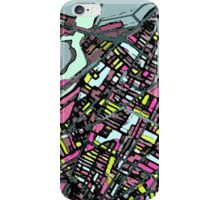 Abstract Map of Somerville iPhone Case/Skin