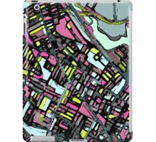 Abstract Map of Somerville iPad Case/Skin