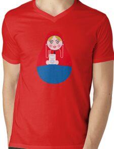 Matrioska Mens V-Neck T-Shirt
