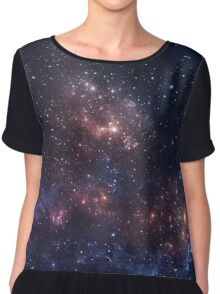 stars and nebula Chiffon Top