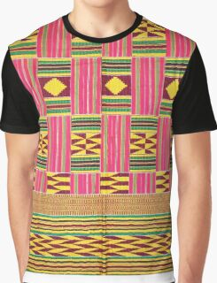 African Textile Graphic T-Shirt
