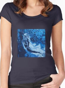 deep waters Women's Fitted Scoop T-Shirt
