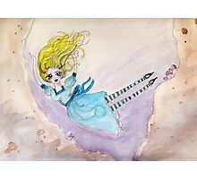 Alice down the rabbit hole Photographic Print