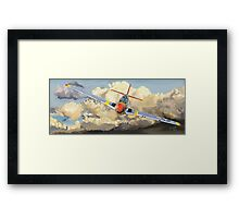 Imminent Attack Framed Print