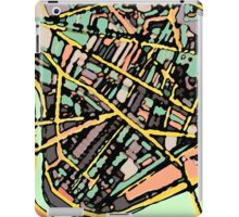 Abstract Map of Cambridge (MA) iPad Case/Skin